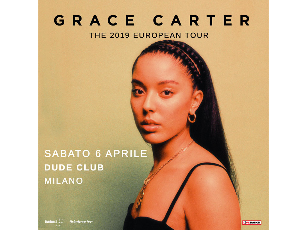 grace carter live dude club milano 2019