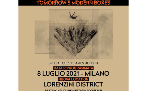 Thom Yorke con Tomorrow's Modern Boxes al Lorenzini District