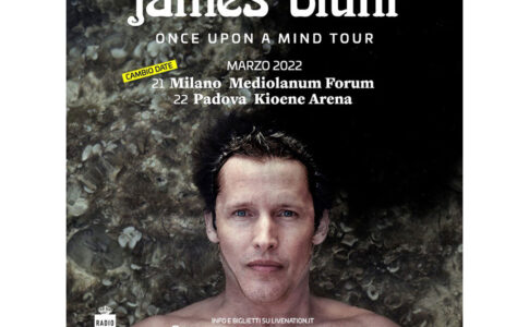 Once Upon A Mind 2022 di James Blunt